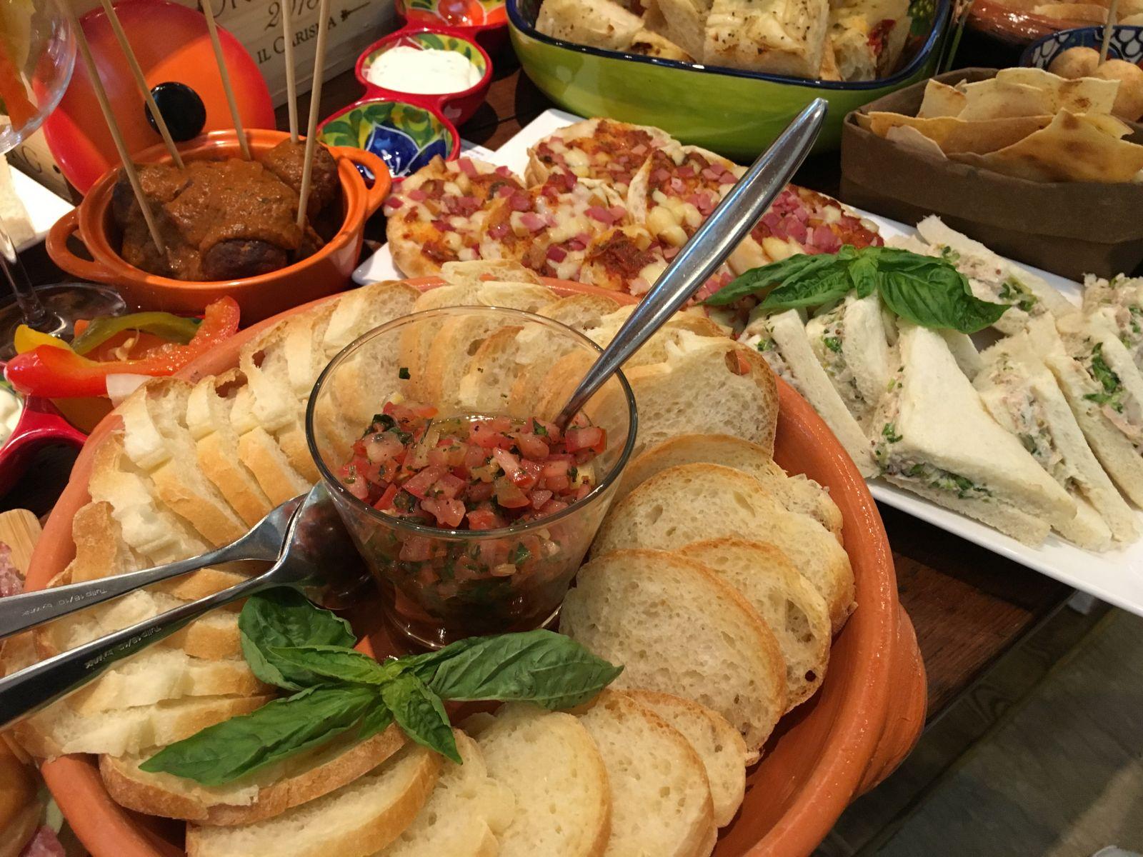 美味的義大利道地餐點